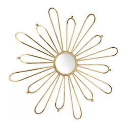 Cyan Designs Gold Cleopatra Rounded Mirror
