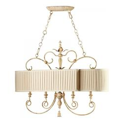 Cyan Designs Persian White Maison 4 Light 1 Tier Chandelier