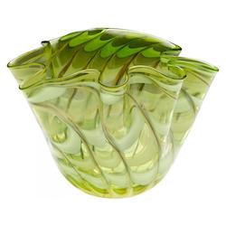 Cyan Designs Green / Yellow 15.5in. Large Francisco Bowl