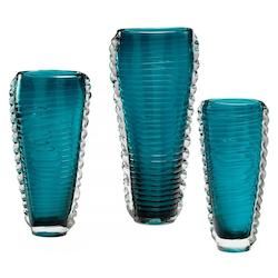 Cyan Designs Cyan Blue 11in. Small Dollie Vase