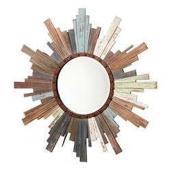 Cyan Designs Multi Colored Davenport Rounded Mirror