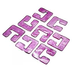 Cyan Designs Purple Purple Glass Links for 04981