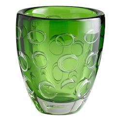 Cyan Designs Emerald Green 8in. Home Accent Vase