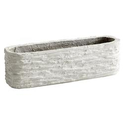 Cyan Designs Decorative Fossil Cliff Planter