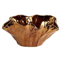 Cyan Designs Copper 14in. x 9in. Payton Bowl