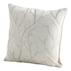 Cyan Designs Silver Stem The Flow 18 x 18 Square Pillow