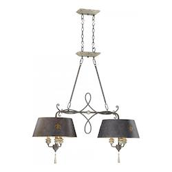 Cyan Designs Carraige House 40in. Six Lamp Island from the Provence Collection