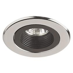 Dainolite One Light Chrome Recessed Lighting Trim