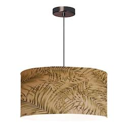 Dainolite Oil Brushed Bronze 3 Light Pendant