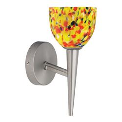 Dainolite Satin Chrome 1 Light Wallchiere
