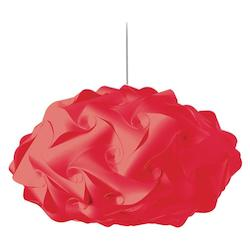 Dainolite Red Daino Ball 3 Light Pendant