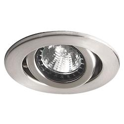 Dainolite One Light Chrome Directional Recessed Light