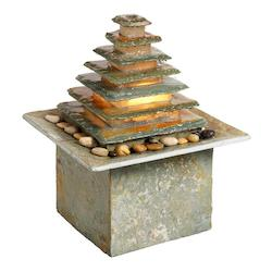 Dainolite Slate Fountain W/Light