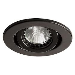 Dainolite Black Directional Recessed Light