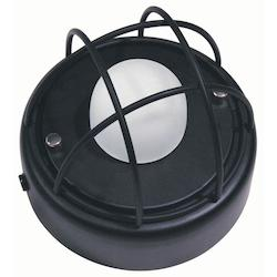 Dainolite Black 1 Light Flushmount Ceiling Fixture