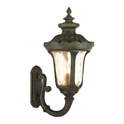 Livex Lighting Imperial Bronze Oxford 4 Light Outdoor Lantern Wall Sconce