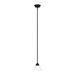 Livex Lighting Bronze Coronado 1 Light Mini Pendant