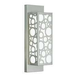 Livex Lighting Brushed Nickel Avalon 1 Light Ada Compliant Flush Mount Wall Sconce