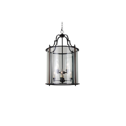 Bethel 8 Light Bronze Foyer Ceiling Lantern