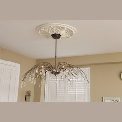 Bethel 12 Light Antic Bronze Chandelier