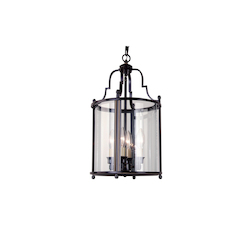 Bethel 4 Light Bronze Ceiling Lantern