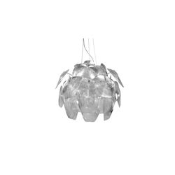 Bethel 1 Light White Petals Pendant