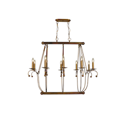Bethel 12 Light Chrome Chandelier