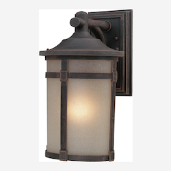 Artcraft St. Moritz 1 Light AC8631BZ Bronze Outdoor Light