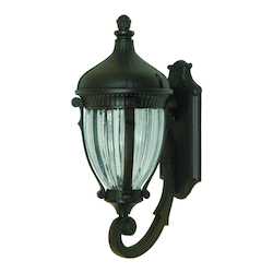 Artcraft Anapolis 3 Light  Oil Rubbed Bronze Outdoor Wall Light