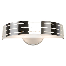 Artcraft Seattle 2 Light Chrome Wall Bracket