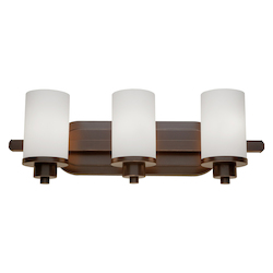 Artcraft Parkdale 3 Light  Oil Rubbed Bronze Bathroom Light