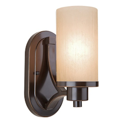 Artcraft Parkdale 1 Light  Oil Rubbed Bronze Wall Bracket
