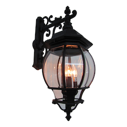 Artcraft Classico 4 Light AC8491WH Black Outdoor Light