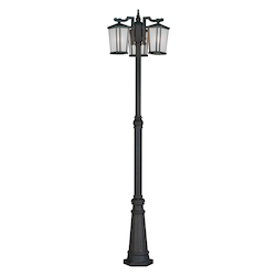 Artcraft Hampton 3 Light  Oil Rubbed Bronze Outdoor Light