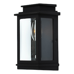 Artcraft Fremont 1 Light  Black Outdoor Wall Light