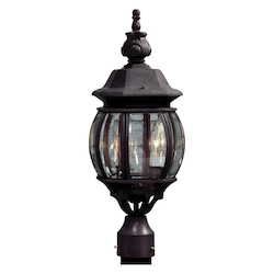 Artcraft Classico 3 Light  Rust  Outdoor Light