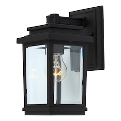 Artcraft Fremont 1 Light AC8190BK Black Outdoor Light