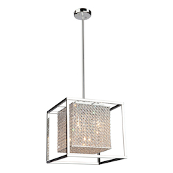 Artcraft Vega 5 Light  Stainless Steel Chandelier