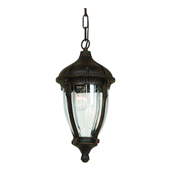 Artcraft Anapolis 4 Light  Oil Rubbed Bronze Outdoor Pendant Light