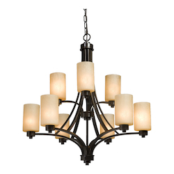 Artcraft Parkdale 9 Light  Oil Rubbed Bronze Chandelier