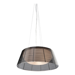 Artcraft San Jose 3 Light  Black Pendant