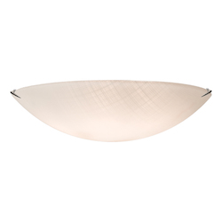 Artcraft  4 Light  Chrome Flush Mount
