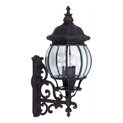 Artcraft Classico 4 Light AC8490WH Black Outdoor Light