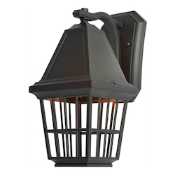 Artcraft Castille 1 Light AC8961BK Black Outdoor Light
