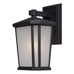 Artcraft Hampton 1 Light  Oil Rubbed Bronze Outdoor Wall Light