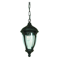Artcraft Anapolis 1 Light  Oil Rubbed Bronze Outdoor Pendant Light