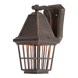 Artcraft Castille 1 Light AC8962RU Rust  Outdoor Light