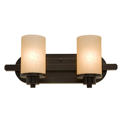 Artcraft Parkdale 2 Light  Oil Rubbed Bronze Bathroom Vanity