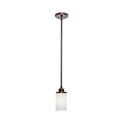 Artcraft Russell Hill 1 Light  Oil Rubbed Bronze Pendant