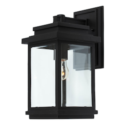 Artcraft Fremont 1 Light AC8290BK Black Outdoor Light